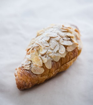 The almond croissant winning the west.