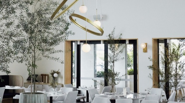 The white and bright interior of Peca in Gregory Hills.