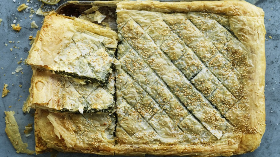 This spanakopita is a little time-consuming, but it is ultra satisfying.
