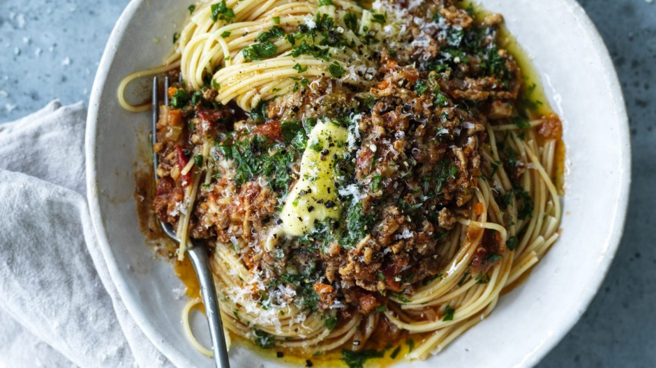 It was the year of bolognese. So much bolognese.
