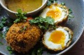 Son-in-law egg meets scotch egg.