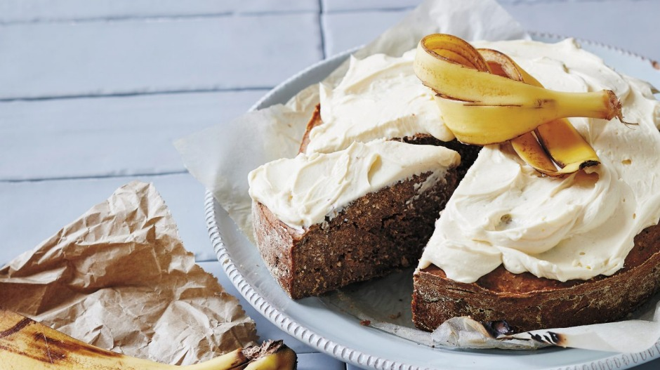 Waste not, want not: Transform banana peels into Wilson's banana peel cake.