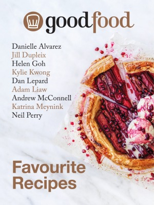 The Good Food Favourite Recipes cookbook.