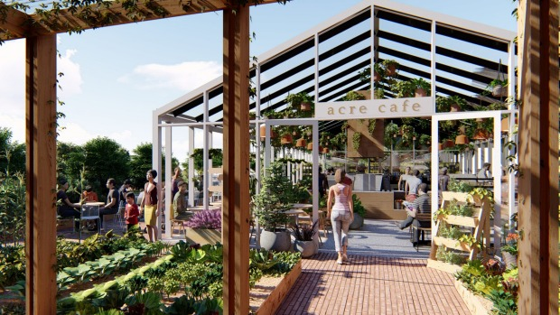 Acre Eatery and Farm will open on the roof of Brickwork's shopping centre