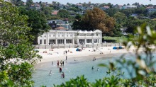 The Bathers' Pavilion at Balmoral Beach in Mosman, Sydney.