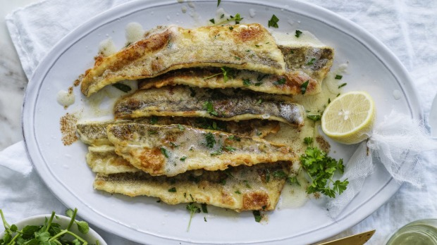 Neil Perry S King George Whiting Meuniere Recipe Good Food