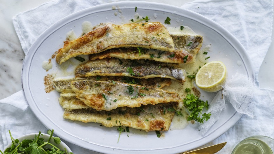 King George whiting meuniere