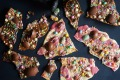 Get cracking: Freestyle Easter egg chocolate bark.