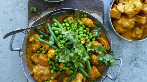Butter vegetable curry.