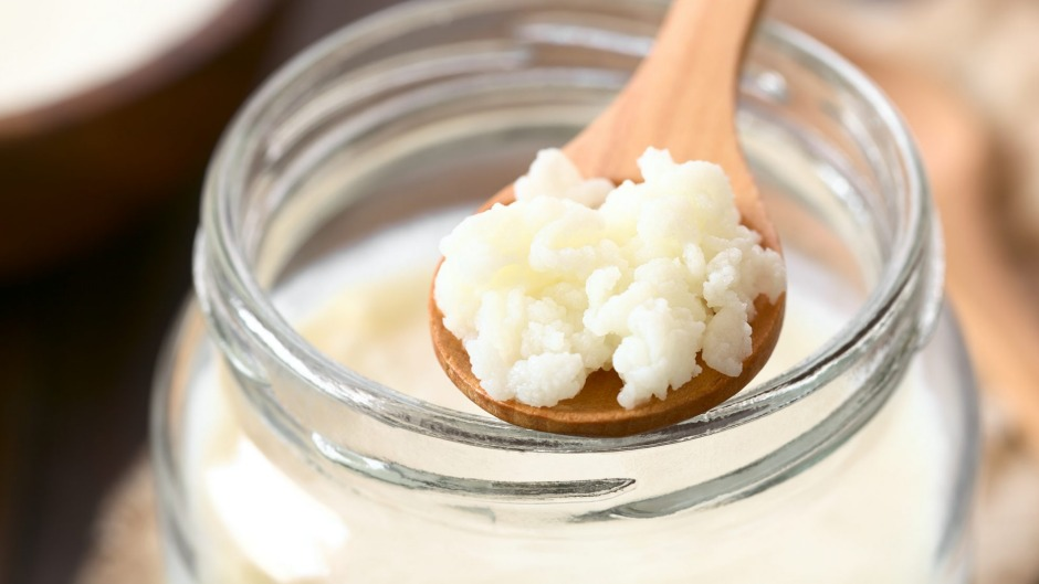 Milk kefir is made with cow, sheep or goat milk.