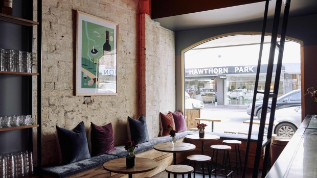 Pull up a stool and watch the world go by at East End Wine Bar.