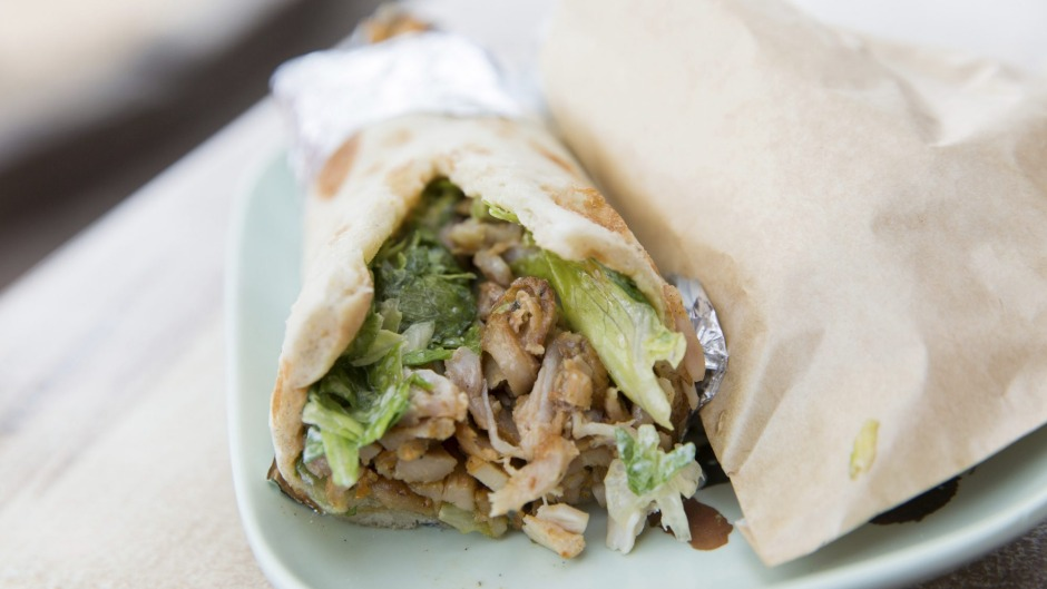 The chicken doner kebab is a ripper.