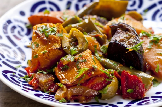 Frank Camorra's quince, olive and pumpkin ratatouille <a ...