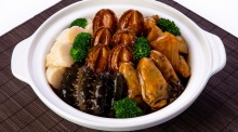 Sun Kitchen's imperial treasure seafood claypot, yours for $398.