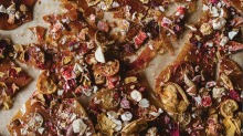 Bushfood brittle is easy to make in a home kitchen and great for gifts.