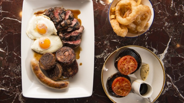 The mixed grill for two is a mixed blessing.