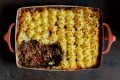 Vegan shepherd's pie.
