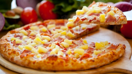Image result for pineapple on pizza