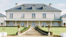Indulge your French chateau fantasies at Campbell Point House in Leopold on the Bellarine Peninsula.