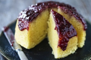 Vanilla puddings show off your best berry preserves.