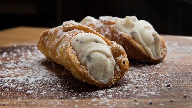 Rocco's cannoli fly out the door.