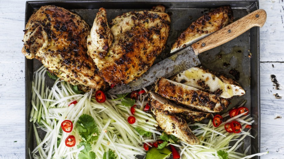 This marinade works with any meat (especially chicken, pictured).