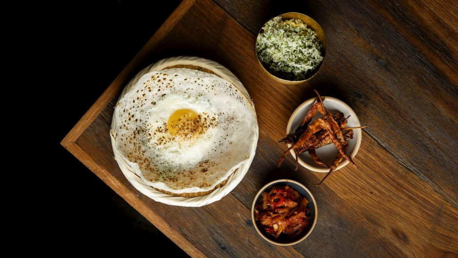 Spice up your boring breakfast: Egg hoppers at Lankan Filling Station.