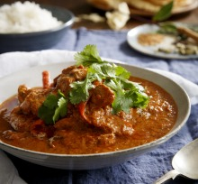 Karen Martini's butter chicken.