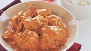 Indian restaurant favourite: Butter chicken.