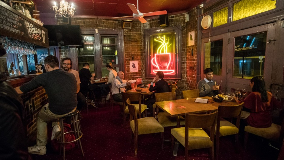 The Old Fitzroy front bar has remained largely unchanged since the new owners.