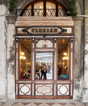 Caffe Florian, in Venice's Piazza San Marco, is Ronnie Di Stasio's first stop on arrival.