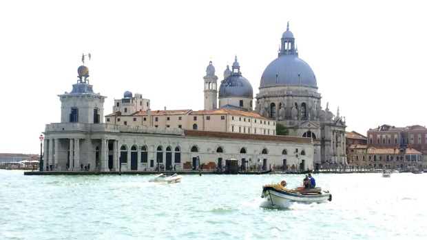 Punta della Dogana is an art museum in one of Venice's old customs buildings.