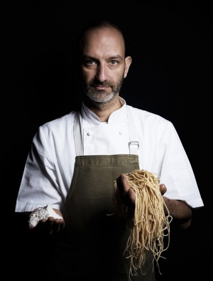 Pasta machine: Chef Andreas Papadakis from Tipo 00 in Melbourne.