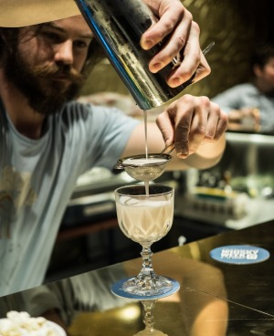 Gold Bar bartenders create bespoke cocktails to order.