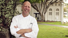 Owner-chef Serge Dansereau will renovate the Bathers' Pavilion from July.