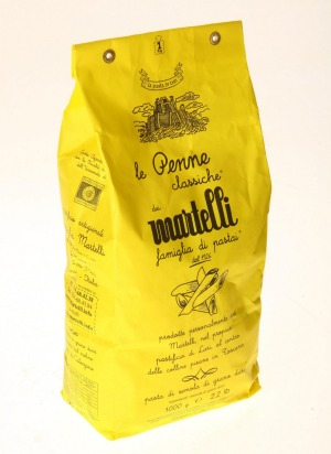 "Caterina Borsato is happy to recommend Martelli pasta – ""if you have the money!"""