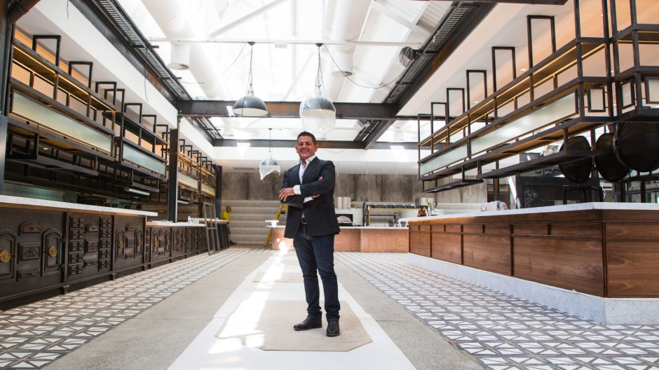 Karima Group's John Sahyoun at the historic Paper Mill building in Liverpool, where 500-seat mega food venue, including ...