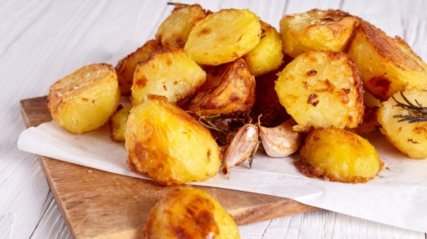 Leftover roast potatoes are a flavour vacuum, making them taste great the day after.