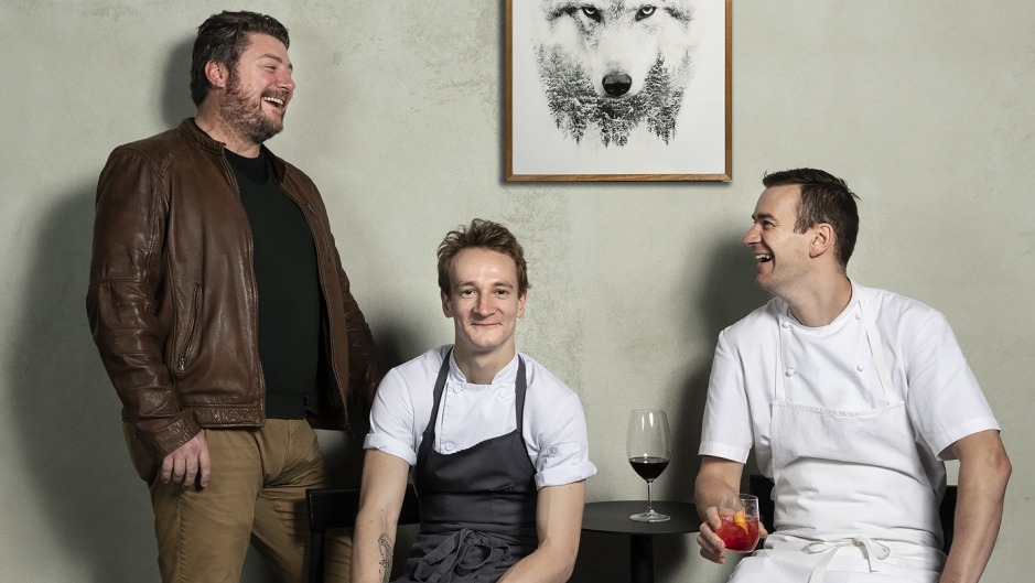 Scott Pickett, Charlie Watson and Stuart McVeigh are the team behind new Italian restaurant Lupo.