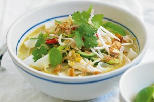 It's well worth making laksa paste from scratch.