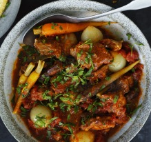 Braised Veal with Orange Gremolata