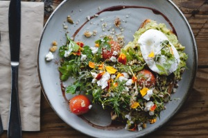 Laneway Specialty Coffee's take on smashed avocado.