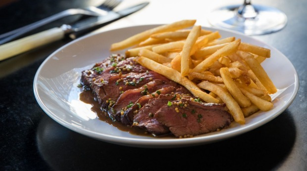 Bar Clementine's steak frites.