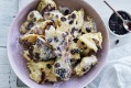 Tear and share: Kaiserschmarrn is a twice-cooked fluffy pancake.