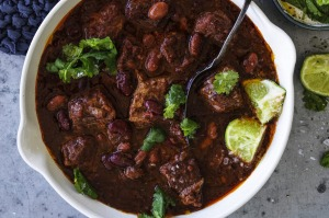 Chunky, hearty chilli con carne.