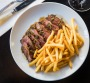Good Food. Bar Clementine, in Pyrmont. Steak frites 30th May 2019. Photo: Edwina Pickles.