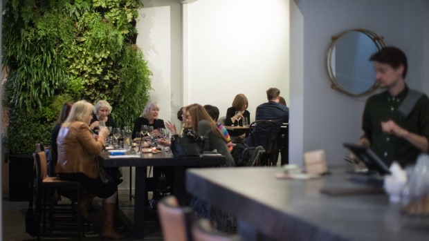 Foliage-flush 40 seat Aromi brings brilliant Italian to Brighton.