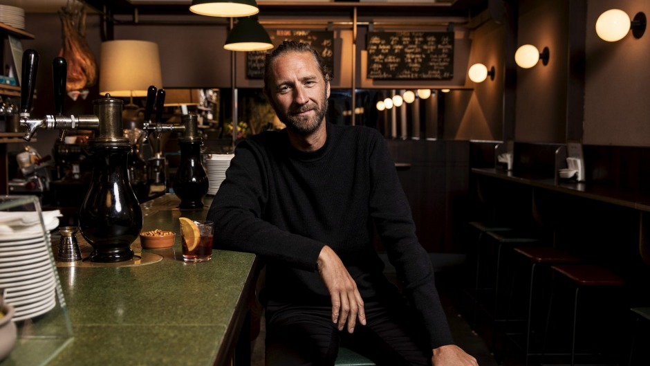Transformation: Merivale's Justin Hemmes at Bar Topa in Sydney.