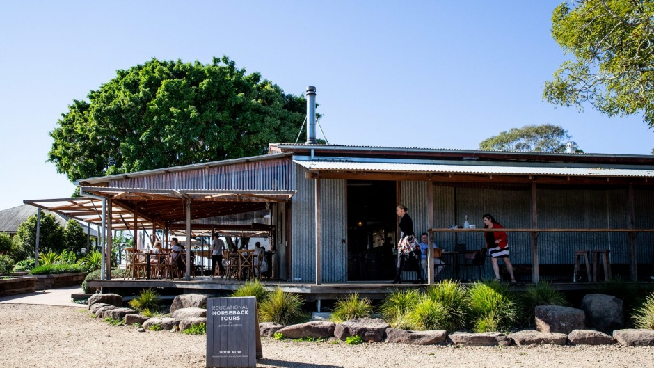 Three Blue Ducks restaurant, cafe and produce store at The Farm Byron Bay.