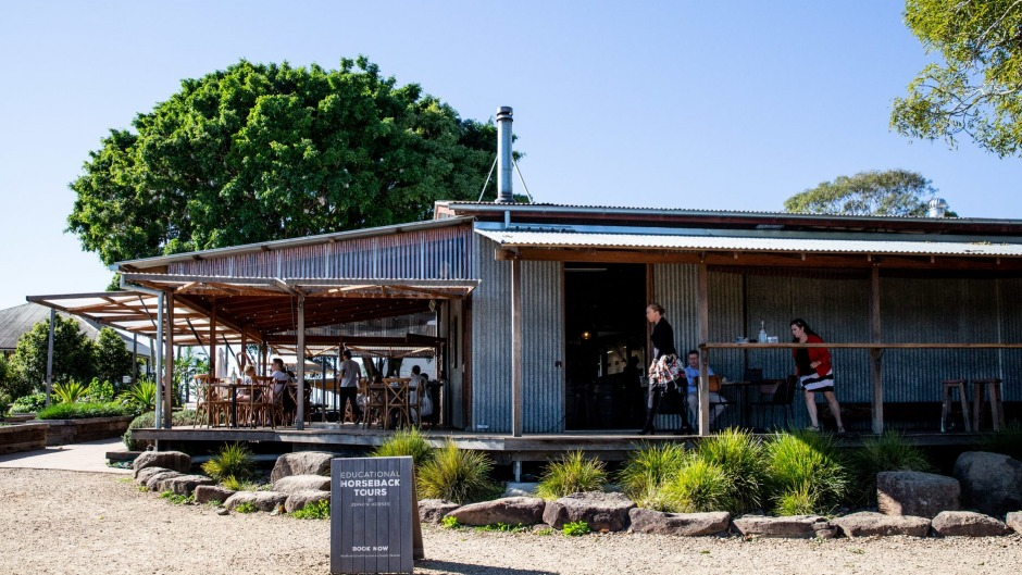 Three Blue Ducks restaurant, cafe and produce store at The Farm.